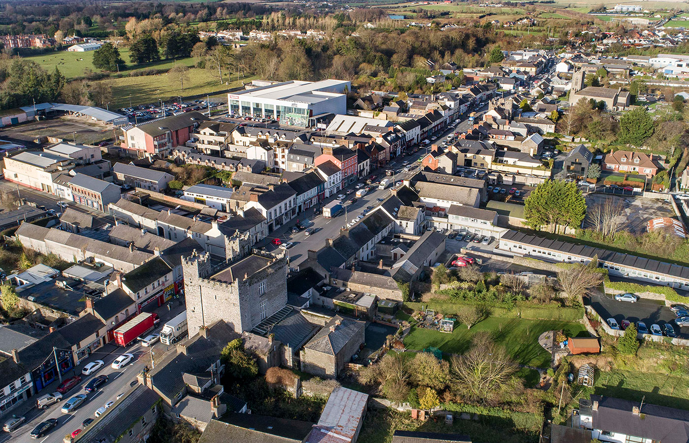 Aerial View of Ardee